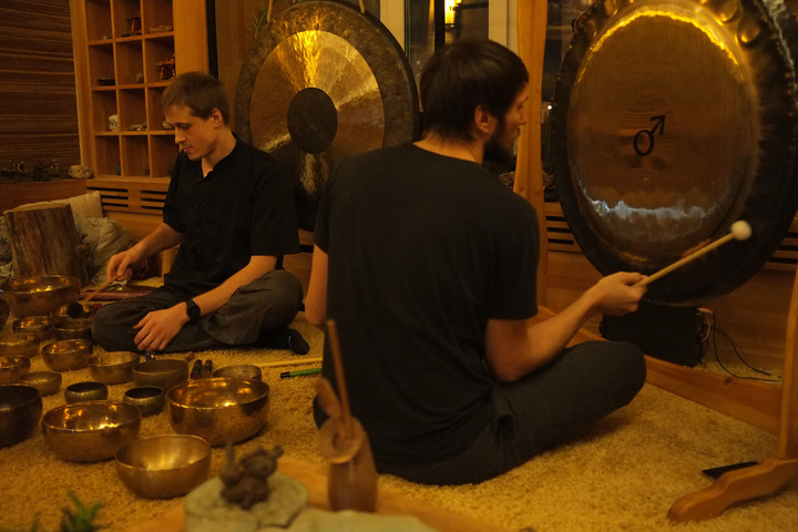 Сергей Сергиевский. Magic Sound. Концерт-медитация с гонгами и тибетскими поющими чашами