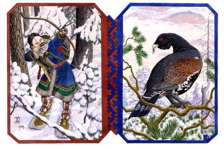 Птичьи сказки крайнего севера
