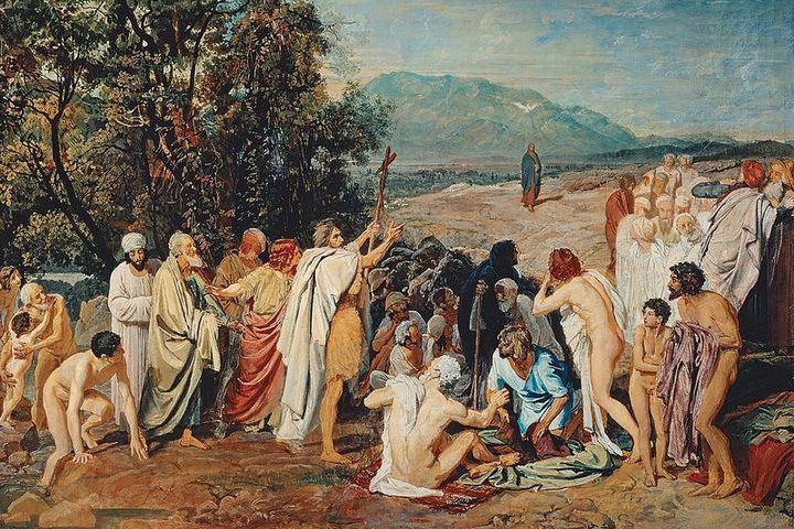 """В поисках """"сюжета всемирного"""": от замысла к воплощению идеи """"Явления Мессии"""""""