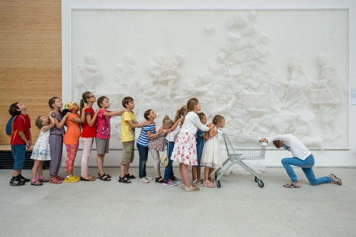 Игровая экскурсия для детей «Искусство в городе. Окно на улицу»