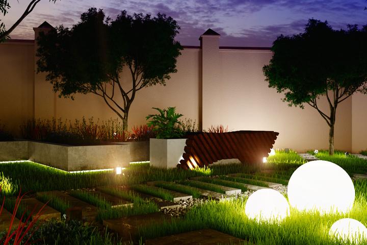 """""""Освещение в ландшафтном дизайне"""""""