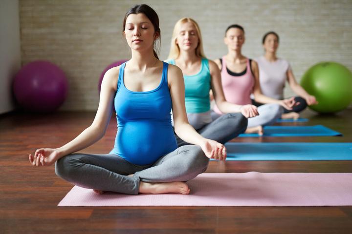 Йога для беременных. Открытый класс