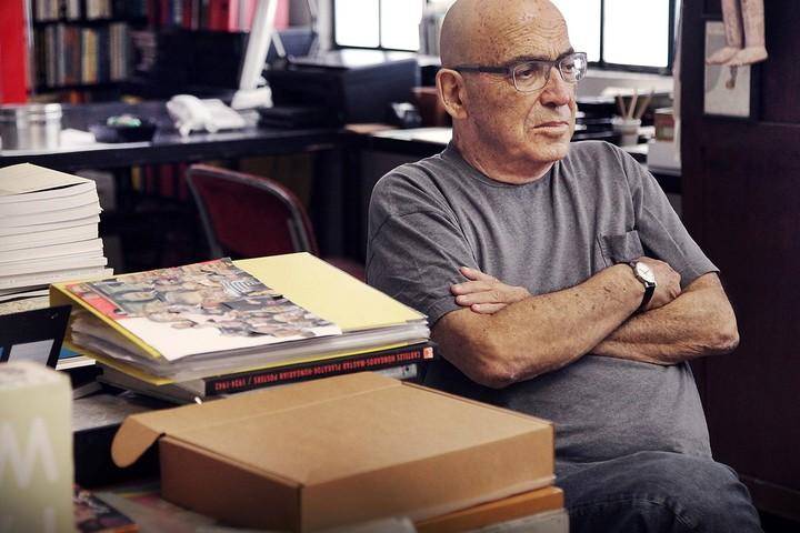 Лекция пионера графического дизайна в Израиле Давида Тартаковера
