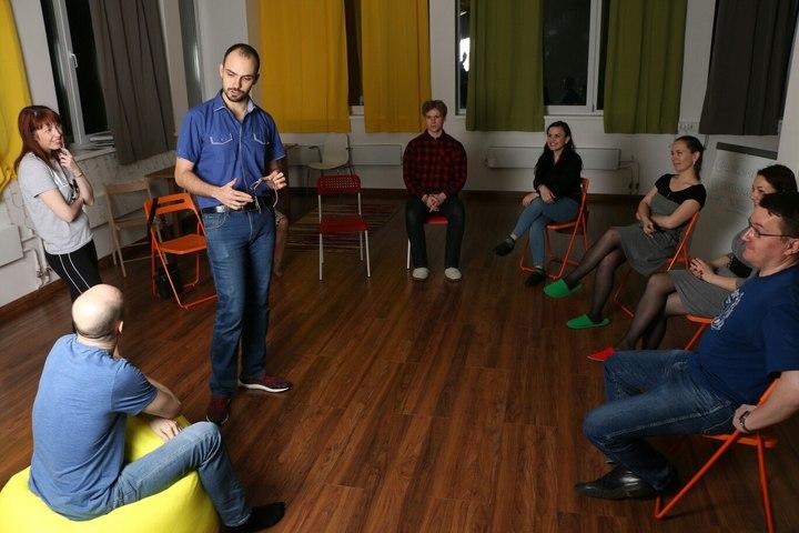 Речевой и театральный тренинг с Ульяной Павловой