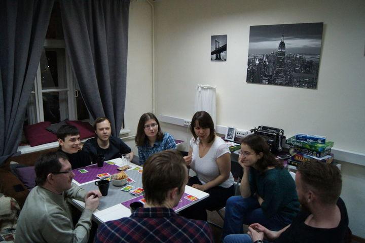 English speaking games club