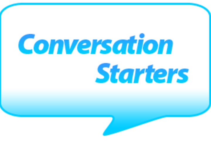 Discussion with Steven: Conversation starters