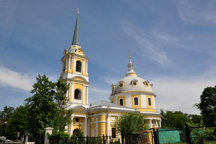 Храм Вознесения на Гороховом поле