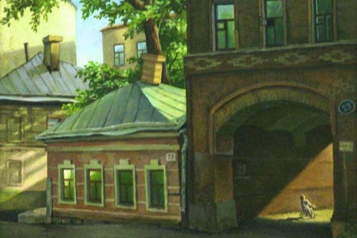 В переулочках Драчёвки - квартала красных фонарей