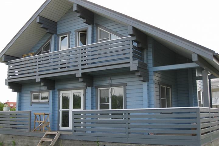 """Семинар: """"Как покрасить деревянный дом."""""""