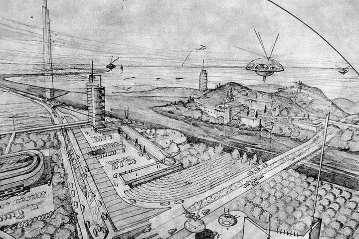 Лекция «Утопия в кадре архитектора: эпопея, общий план, массовка»