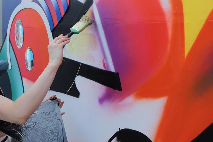 «Строй — дестрой. От уличного искусства до абстрактного рисунка»