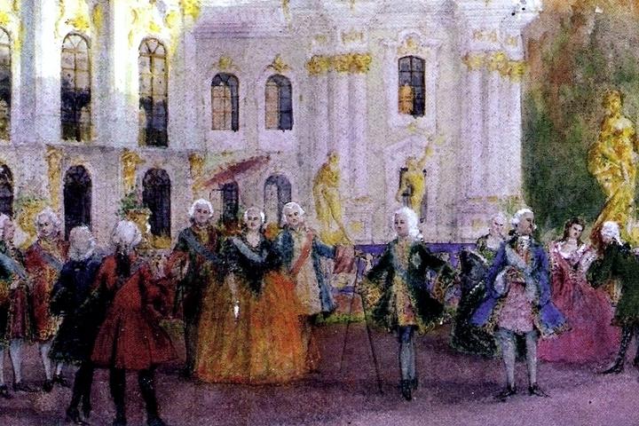 «ЛИЦА XVIII-го СТОЛЕТИЯ» — Елизавета Петровна — «Жизнь двора и последние годы императрицы»