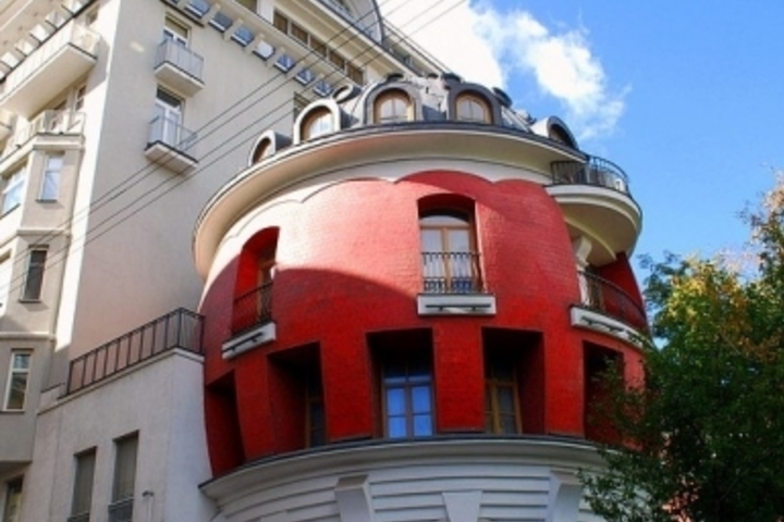 Необычные дома Москвы (пешеходная)