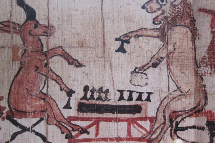 Смеховая культура древнего Египта в рисунках художников