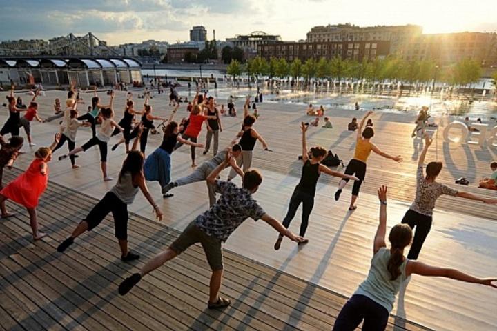 Лекции в День спорта на фестивале «90 лет Парку Горького»