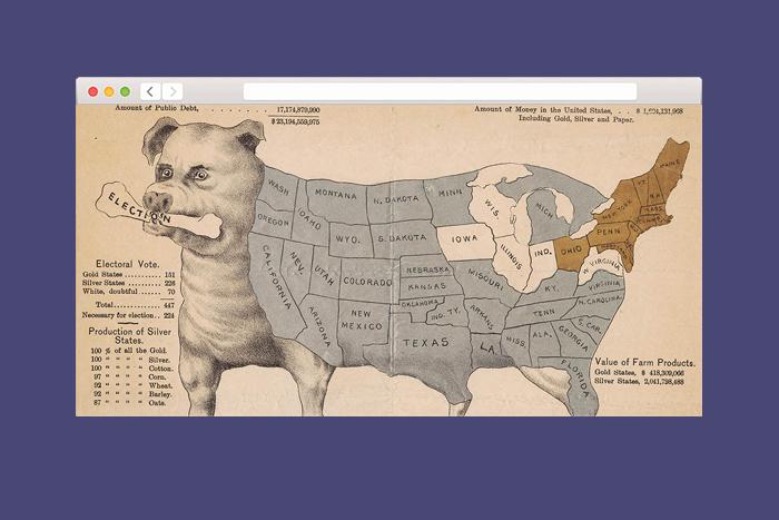 Находка T&P: архив пропагандистских географических карт