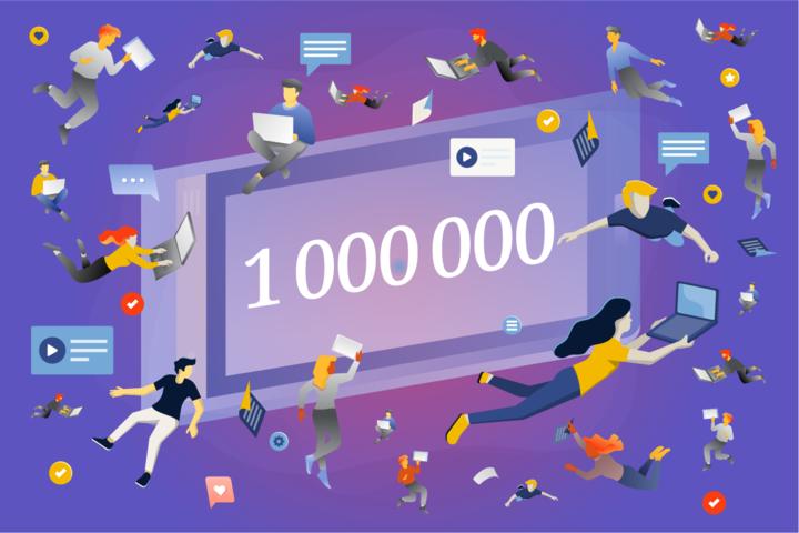 Аудитория онлайн-курсов СПбГУ превысила 1 000 000 слушателей